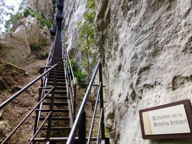 Les gorges du Verdon, le sentier Martel