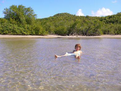 la Baie du Trésor à la presqu'île de la Caravelle, Martinique