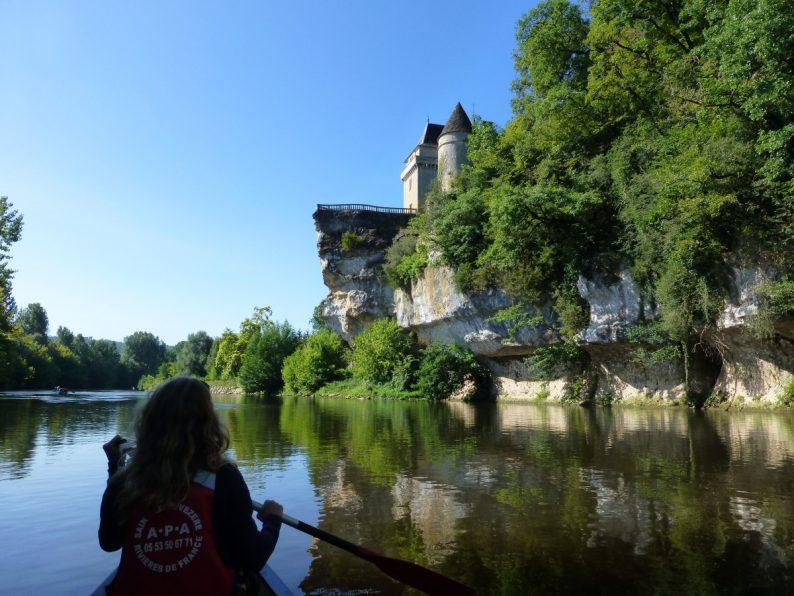 canoe sur la Vezère