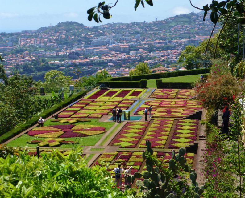 jardin botanique Funchal, Madère