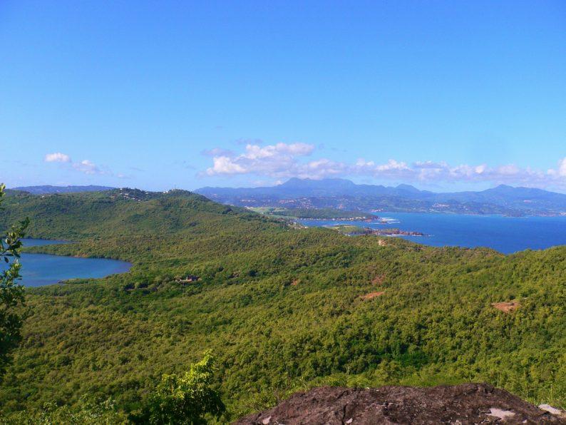 la Presqu'île de la Caravelle, Martinique