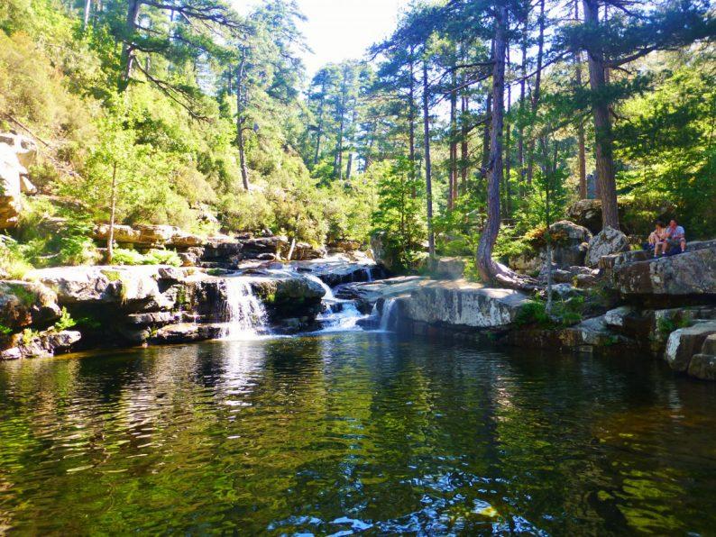 piscines naturelles Evisa, Corse