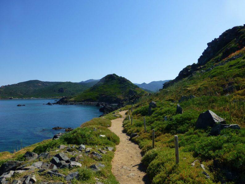 la pointe de la Parata, Corse