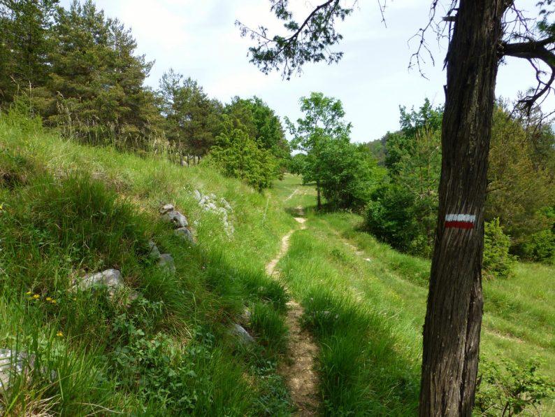 rando Aiglun vers Brèche du Mont-St-Martin