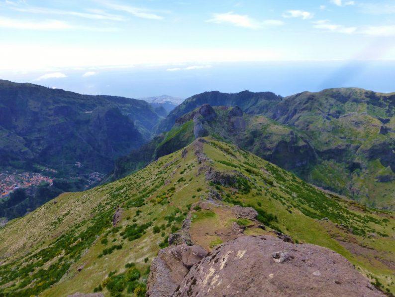rando Pico Grande, Madère