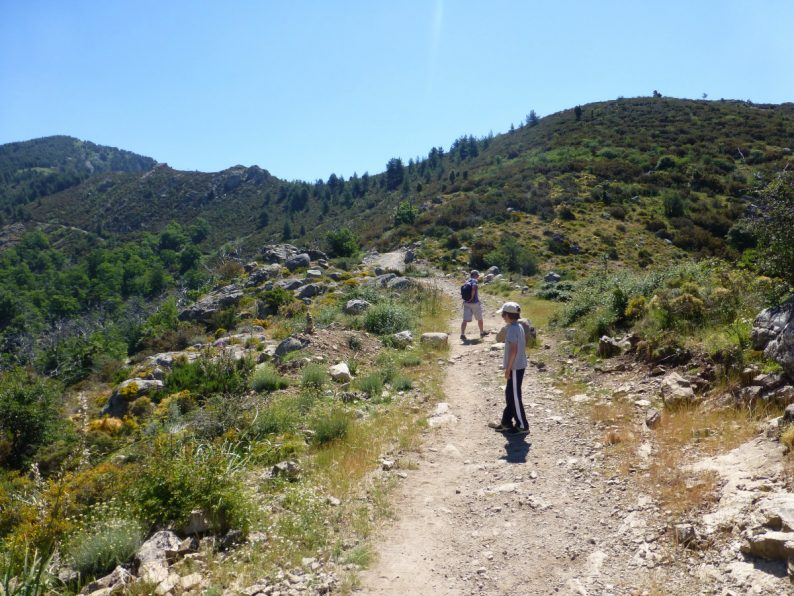 rando lac de Creno, Corse