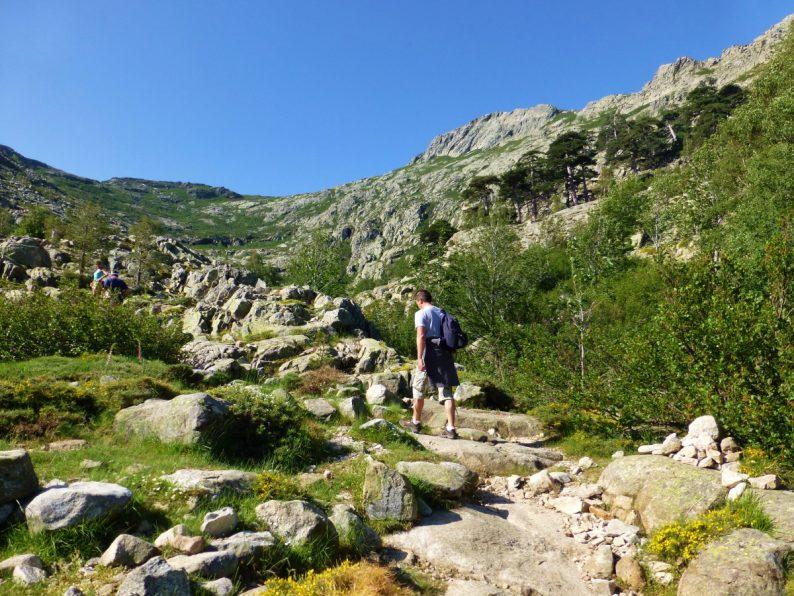 rando lac de Nino, Corse