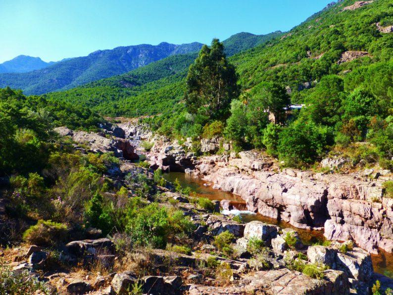 vallée du Fango Galéria, Corse