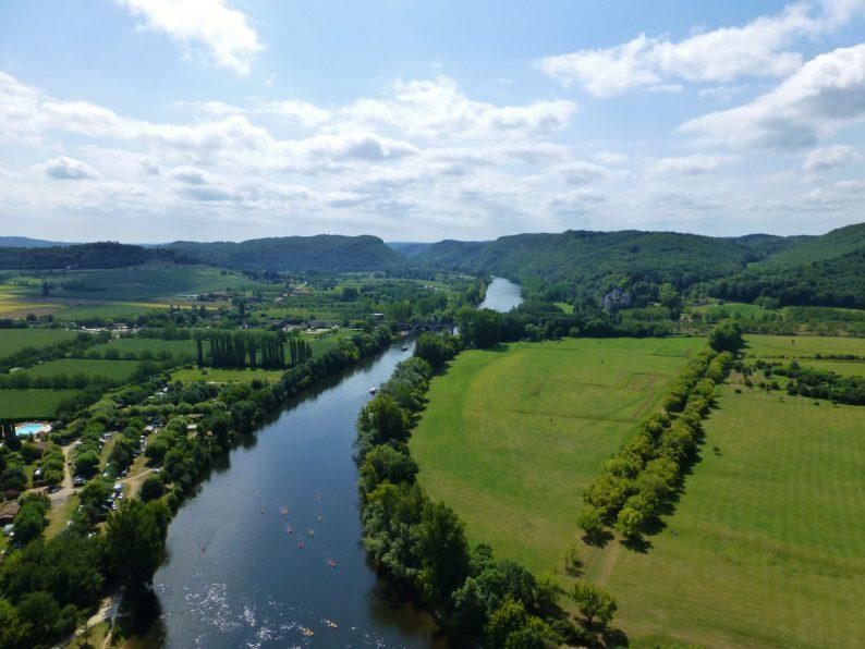 vue du chateau de Beynac, Dordogne