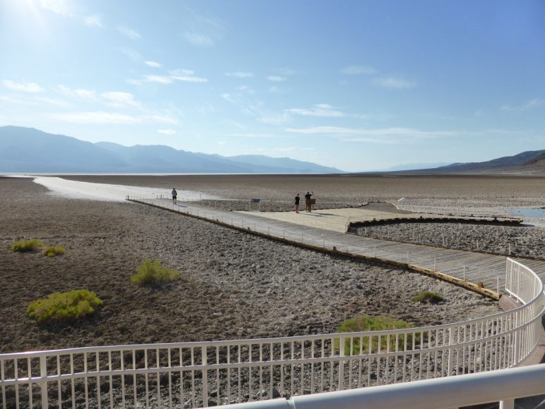 Badwater Basin Death Valley, Californie