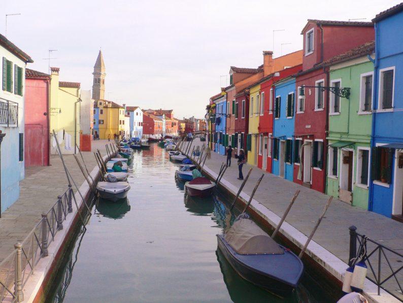 Burano, Venise