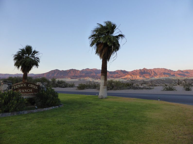 Furnace Creek Ranch Death Valley Californie