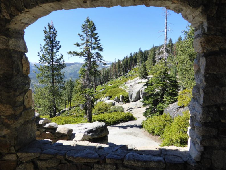 Glacier Point Yosemite Californie