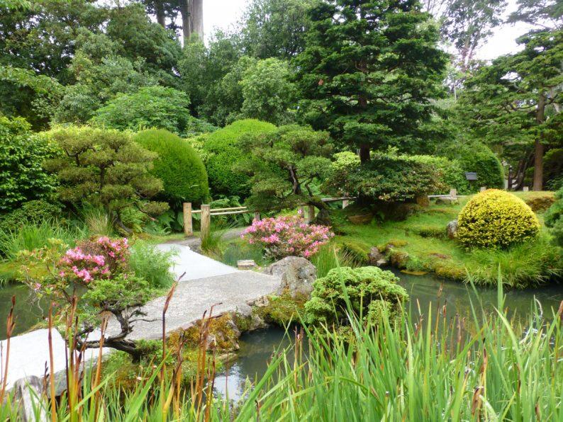 Japenese Tea Garden au Golden Gate Parc, San Francisco