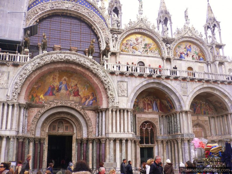 La basilique Saint-Marc, Venise