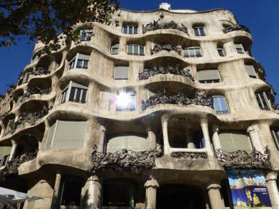 La casa Mila, Barcelone
