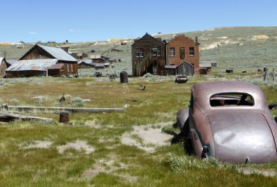 La ville fantôme de Bodie, Californie