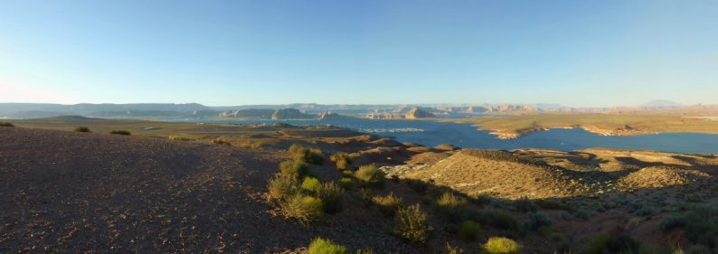 Lake Powell depuis Wahweap View, Arizona