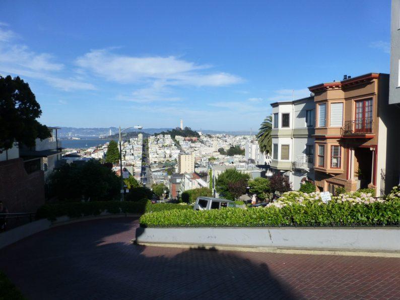 Lombart Street, San Francisco