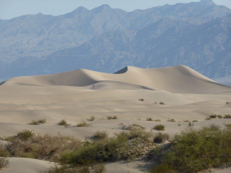 Mesquite Sand Dunes Death Valley, Californie