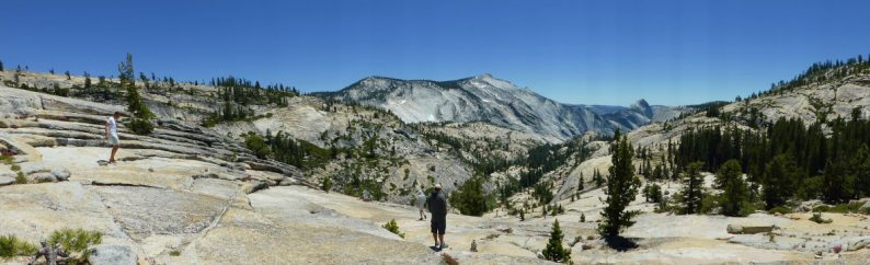 Olmsted Point, Yosemite Californie