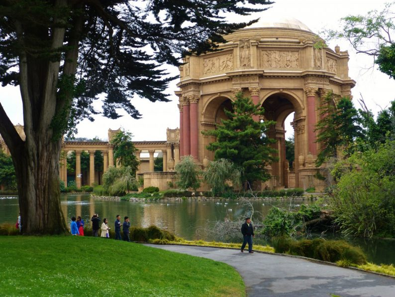 Palace of Fine Arts San Francisco, Californie