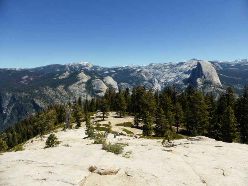 Sentinel Dome Trail Yosemite Californie