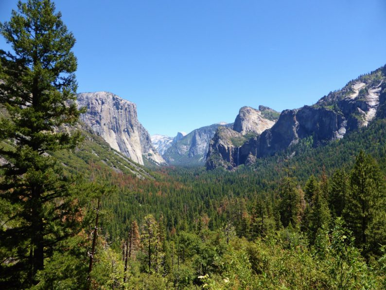 Tunnel View Yosemite Californie