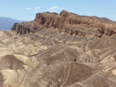 Zabriskie Point Death Valley Californie