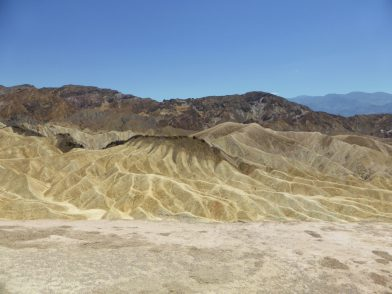 Zabriskie Point Death Valley, Californie