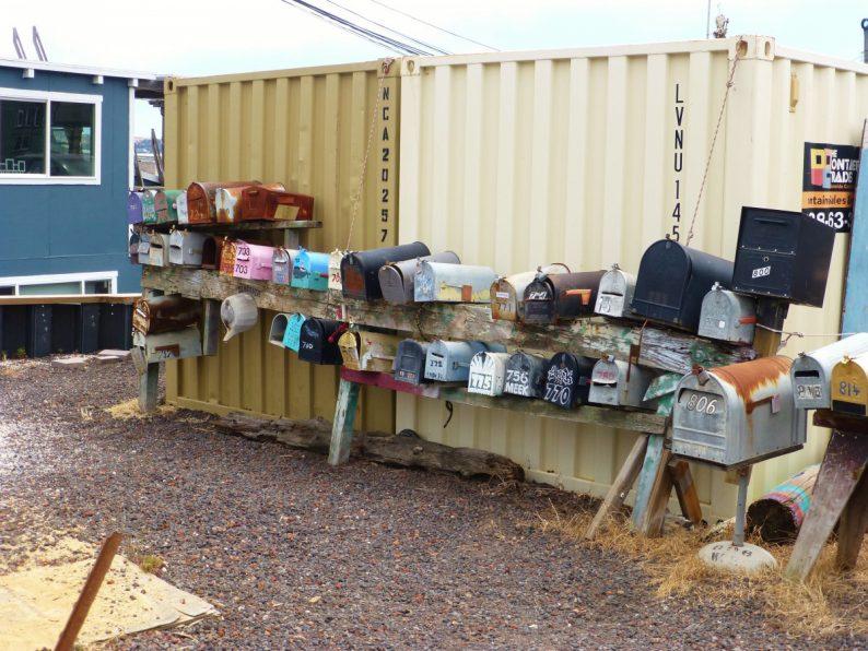 boites aux lettres, Sausalito