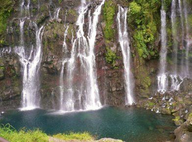 cascade de Grand-Galet, île de la Réunion
