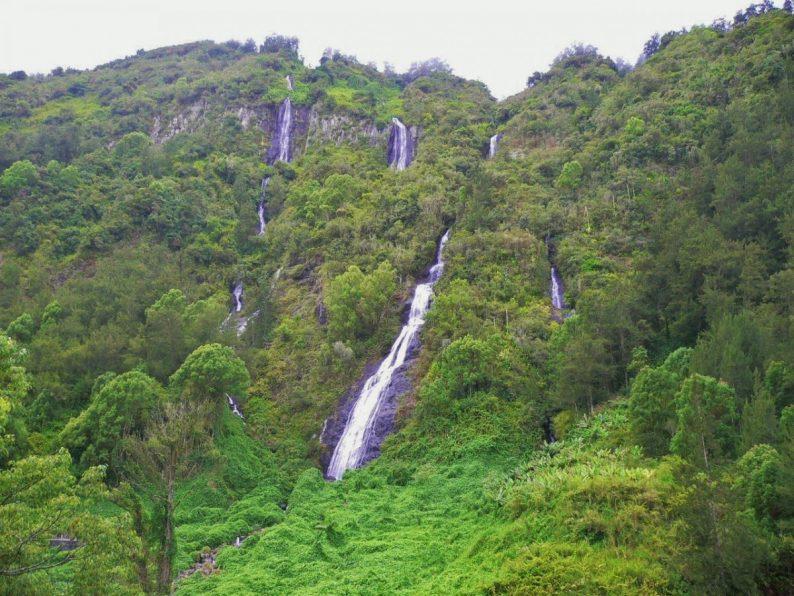 cascade du voile de la mariée, île de la Réunion