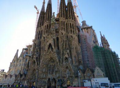 la Sagrada Familia Barcelone