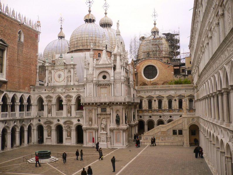 Le palais des Doges-Venise