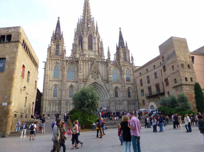 la cathédrale de la Seu-Barcelone