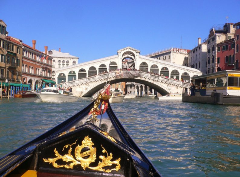 la pont du Rialto, Venise