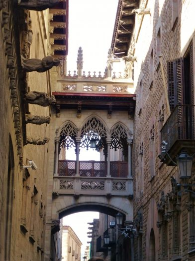 le Barri Gotic Barcelone