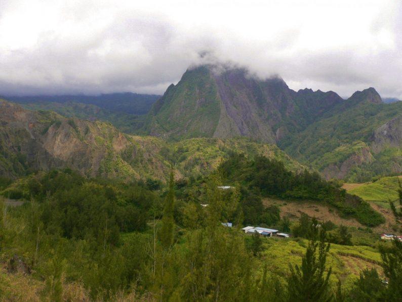 le cirque de Salazie, l'ile de la Réunion