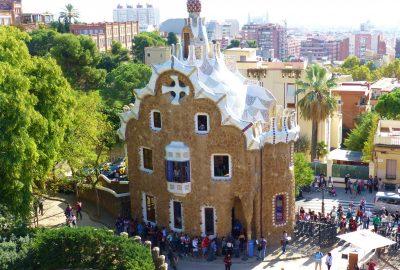 le parc Guell, Barcelone