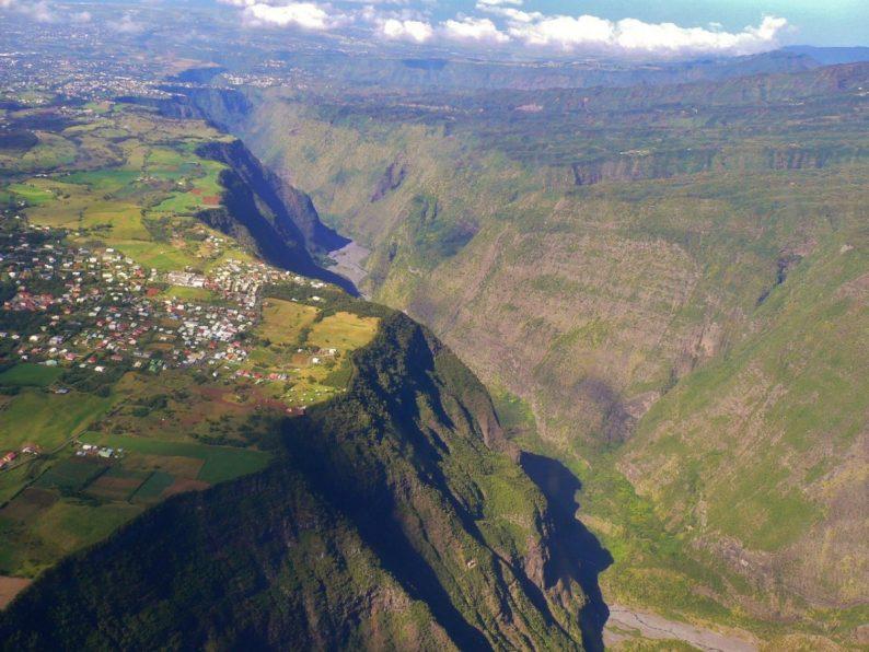 survol île de la Réunion