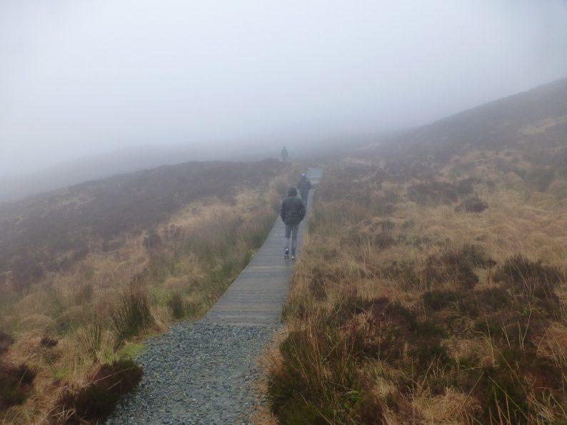 rando Diamond Hill, parc national du Connemara