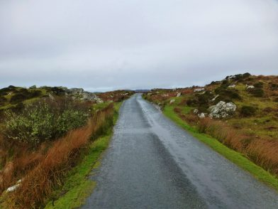 Bog Road, Connemara, Irlande