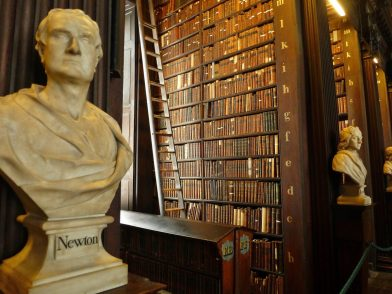 bibliothèque du Trinity College, Dublin