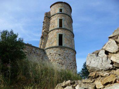 le château de Grimaud, Var