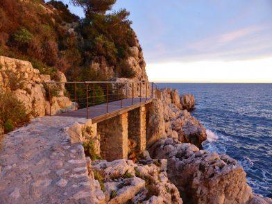 le sentier du littoral, Nice