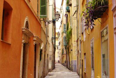 les rues du Vieux-Nice