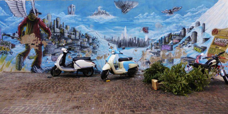 Street Art - quartier du Panier à Marseille