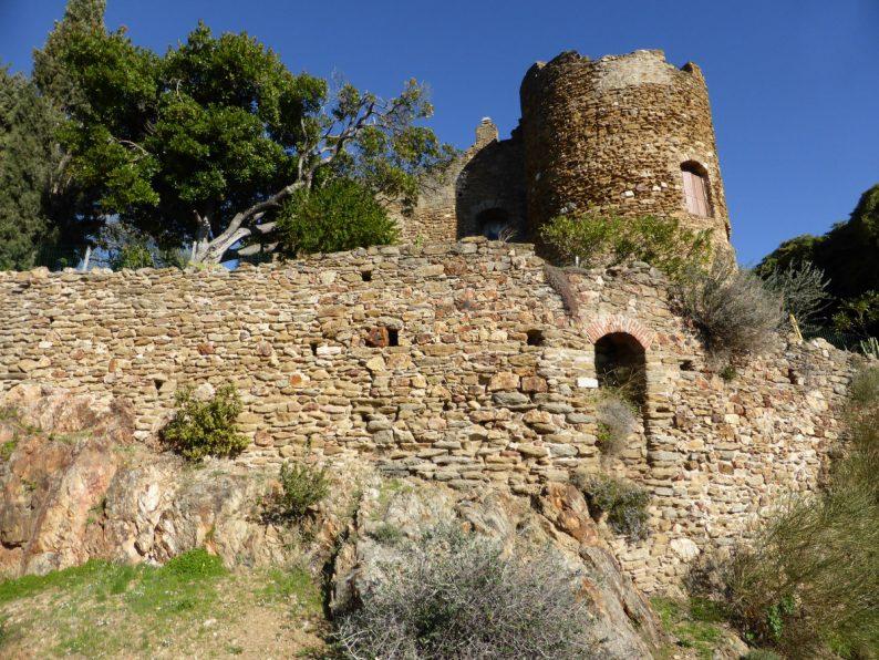 Le château de Fos à Bormes-les-Mimosas