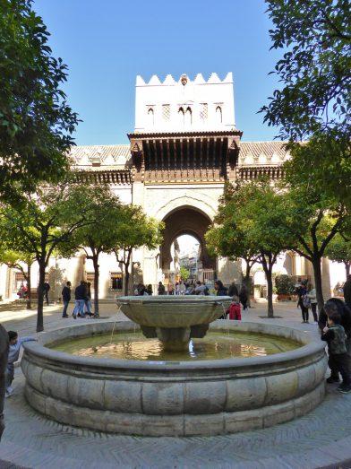 Patio de los Najanjos, Cathédrale de Séville